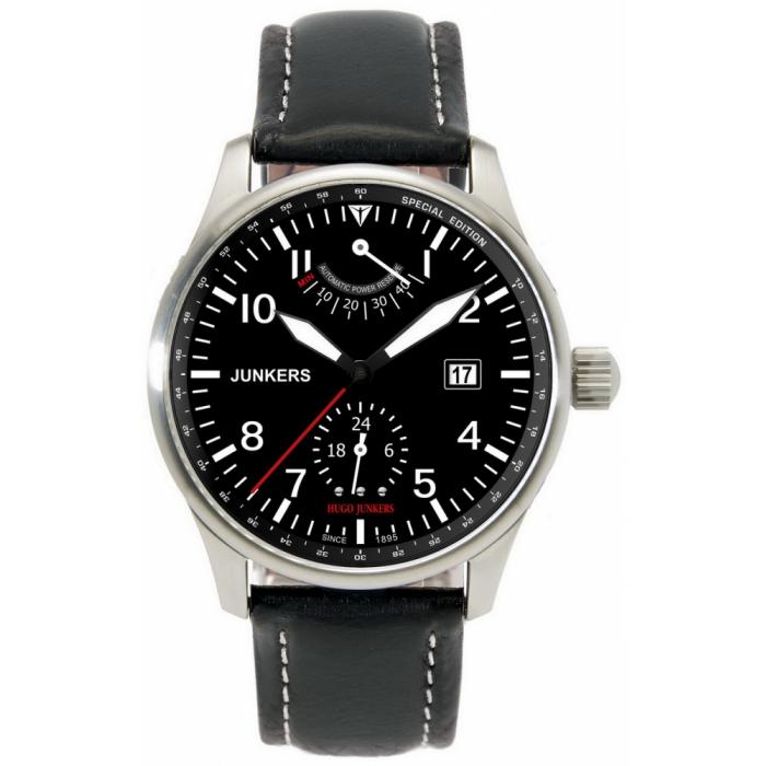 Ceas barbatesc Junkers 9100/6666-2 Hugo Automatic