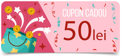 Cupon - cod reducere - 50 lei
