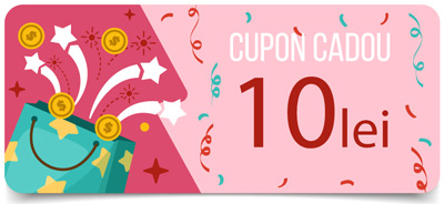 Cupon - cod reducere - 10 lei