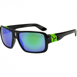 Ochelari de soare unisex Cebe LAM SHINY BLACK GREEN 1500 GREY FM GREEN