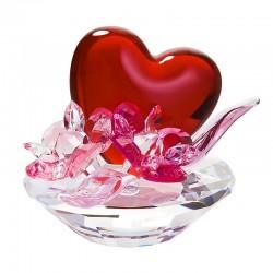 Figurina cristal Preciosa - Valentine Heart