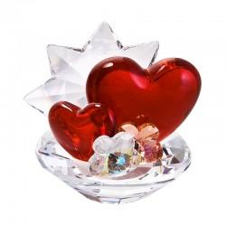 Figurina cristal Preciosa - Valentine (Stand for small cards)
