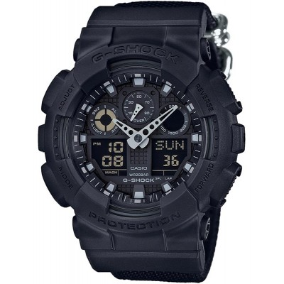 Ceas barbatesc Casio G-Shock GA-100BBN-1AER