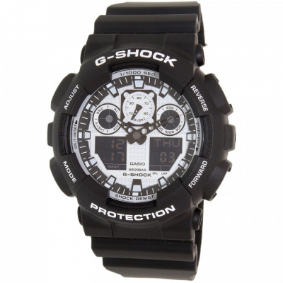 Ceas barbatesc Casio G-Shock GA-100BW-1AER