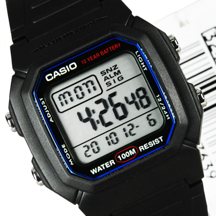 Ceas barbatesc Casio W-800H-1AVDF