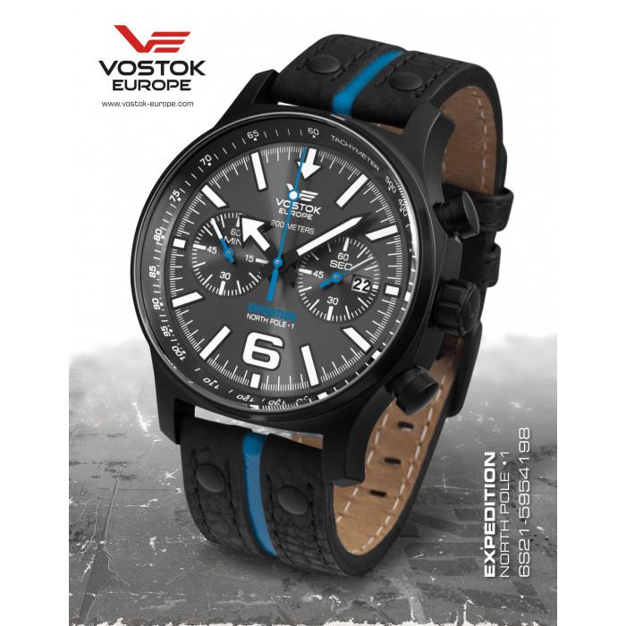 Vostok-Europe 6S21/5954198 Expedition North Pole-1
