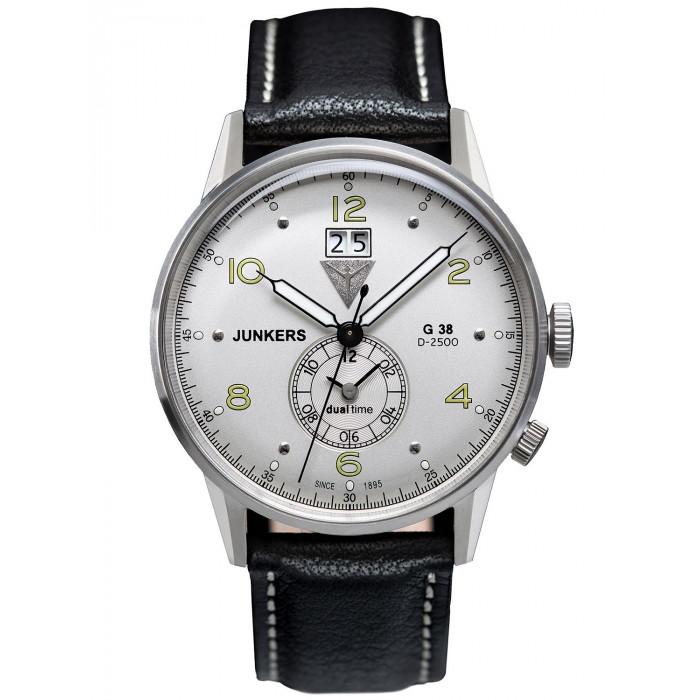 Ceas barbatesc Junkers 6203.B/6940-4 G38 Dual Time