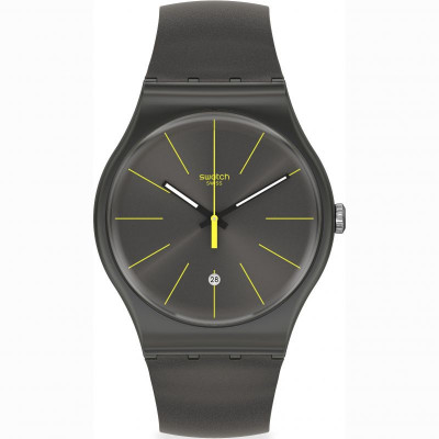 Ceas barbatesc Swatch SUOB404 New Gent Charcolazing