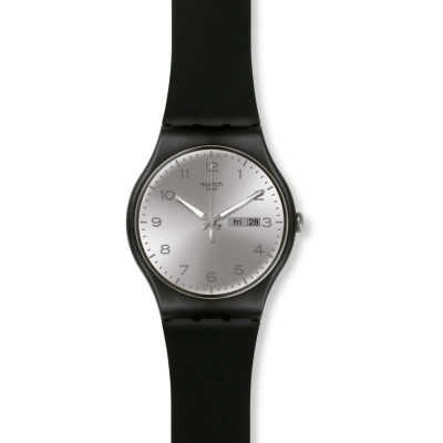 Ceas barbatesc Swatch SUOB717 New Gent Silver Friend