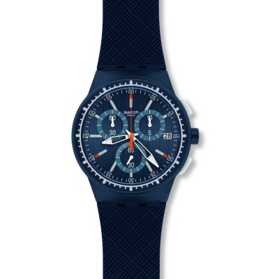 Ceas barbatesc Swatch SUSN410 Gara in Blu