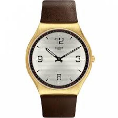 Ceas barbatesc Swatch SS07G100 Skin SUIT COFFEE