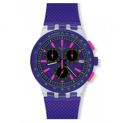 Ceas de dama Swatch SUSK400 Purp-Lol Chronograph