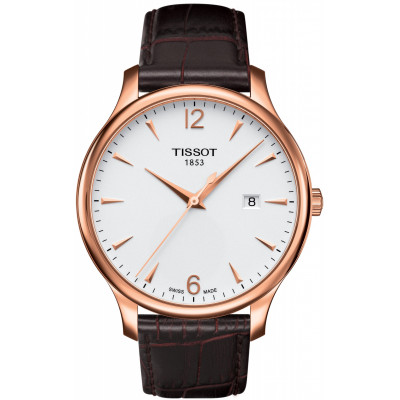 Ceas barbatesc Tissot T063.610.36.037.00 Tradition