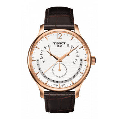 Ceas barbatesc Tissot T063.637.36.037.00 Tradition