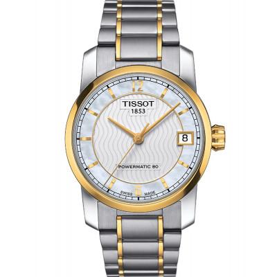 Ceas de dama Tissot T087.207.55.117.00 Titanium Powermatic 80
