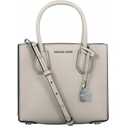 Geanta Michael Kors Mercer Bonded  30F6SM9M2L Cement Medium
