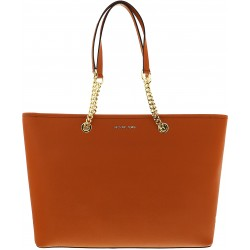 Geanta Michael Kors Jet Set Travel 30S6GJ8T2L Orange Medium