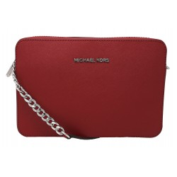 Geanta Michael Kors Jet Set Saffiano 32S4STVC3L Bright Red