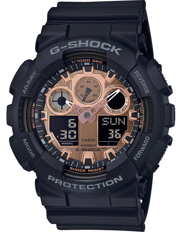 Ceas barbatesc Casio G-Shock GA-100MMC-1AER